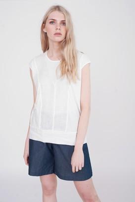 Beaumont Organic Alexa Organic Cotton Top - L - White