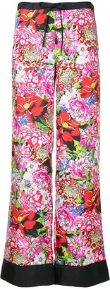 Mary Katrantzou Floral Print Trousers