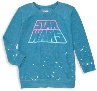 Chaser Little Girl's & Girl's Star Wars Neon Sweatshirt