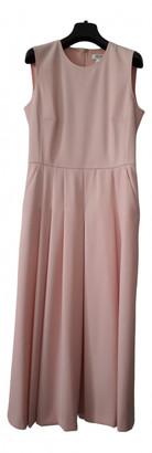Max Mara Pink Wool Dresses