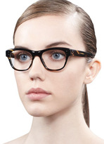 Oliver Peoples Parsons Fashion Glasses, Brown