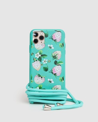 Belle & Bloom Women's Green Phone Cases - Into The Jungle Phone Case - iPhone 11 Pro - Size One Size at The Iconic