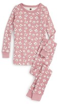 Tea Collection Girl's Geta Fitted Two-Piece Pajamas