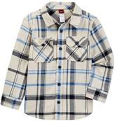 Tea Collection Diego Flannel Shirt (Toddler, Little Boys, & Big Boys)