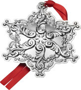 Mikasa Grande Baroque 2017 Sterling Snowflake Ornament 20th Anniversary Edition