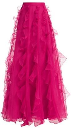 Flor Et. Al Vera Cruz Ruffled Ball Gown Skirt