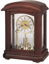 Bulova Nordale Glass Front Pendulum Mantel Clock