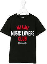 Diesel Music Lovers print T-shirt