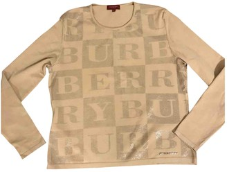 Burberry Beige Knitwear for Women