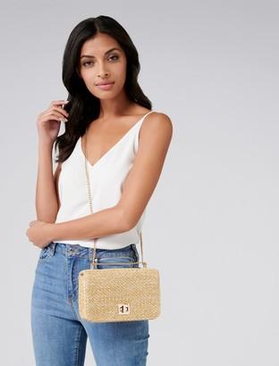Forever New Isobel Crossbody Bag - Natural - 00