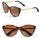 Michael Kors 57mm Plastic Cats-Eye Sunglasses