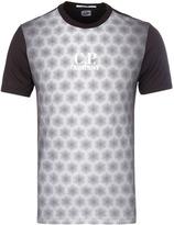 Cp Company Black Honeycomb Print T-shirt