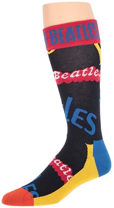 Happy Socks Beatles in the Name of Sock (Multi) Men's Crew Cut Socks Shoes