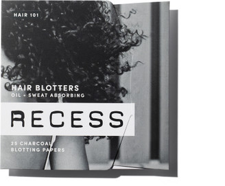 Recess Charcoal Hair Blotting Papers