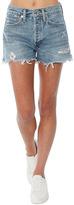 A Gold E Parker Vintage Loose Fit Cut-Off Shorts