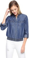 Juicy Couture Denim Indigo Tencel Top