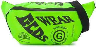 GCDS Oversized Logo Print Belt Bag