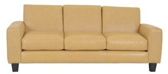 Brompton Columbia Leather Sofa Westland and Birch Upholstery Color Brown