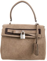 Brunello Cucinelli Mini Suede Satchel