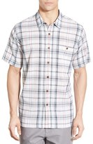 Patagonia Men's 'A/c' Regular Fit Organic Cotton Short Sleeve Sport Shirt