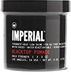 Imperial Star Barber Blacktop Pomade Strong hold Low Shine Water Based 6 oz