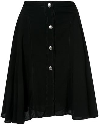 Giambattista Valli button-up midi skirt