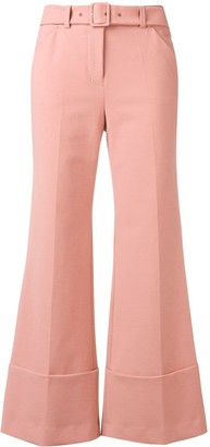 Sara Battaglia Tailored Flared Trousers