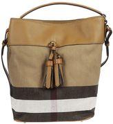 Burberry Medium Grainy Hobo Bag