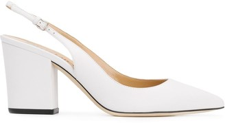 Sergio Rossi 85mm Slingback Pumps