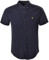 Lyle & Scott Short Sleeved Polo T Shirt Navy