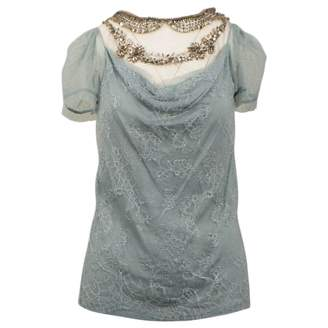 Valentino \N Blue Lace Tops
