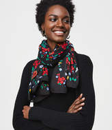 LOFT Stained Glass Floral Scarf