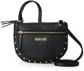 Kenneth Cole Reaction Black Mirror Mirror Studded Crossbody