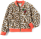 Marc Jacobs Cherry Patch Faux Fur Leopard Jacket