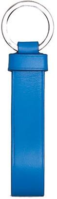 Jeff Wan Leather Loop Key Holder Blue