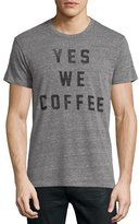 Sol Angeles Coffee Graphic T-Shirt, Gray