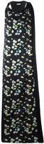 Paco Rabanne floral print long dress