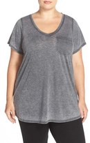 Make + Model Plus Size Women's 'Gotta Have It' V-Neck Tee