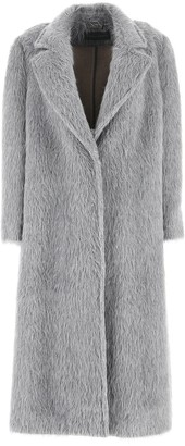 Alberta Ferretti Long Coat