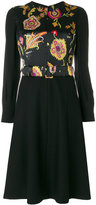 Etro waistband dress - women - Silk/Polyurethane/Spandex/Elastane/Viscose - 44