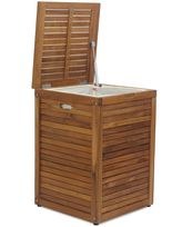 Bed Bath & Beyond Teak Slat Hamper
