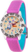 Disney Doc McStuffins Girls Purple Strap Watch-Wds000288