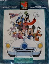Disney Mickey Unlimited Cross-stitch Kit, Cruisin' (Mickey and the Gang)