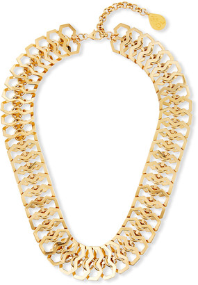 Devon Leigh Mesh Collar Chain Necklace