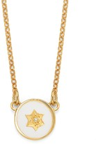 Harry Rocks North Star Necklace Gold White