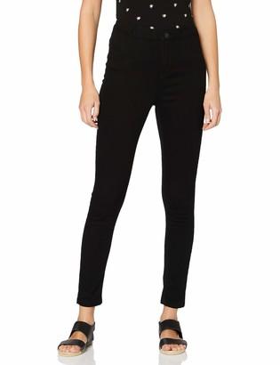 Dorothy Perkins Women's Black Regular Length Lyla Jeans 10