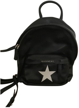 Givenchy Black Leather Backpacks