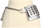 MICHAEL Michael Kors Rhinestone Belt Bag (Silver) - Apparel