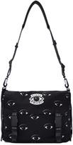 Kenzo Black Nylon Eye Messenger Bag