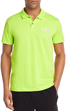 Giorgio Armani Emporio EA7 Logo Regular Fit Polo Shirt
